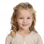 Portrait of a pretty liitle girl  — Stock Photo