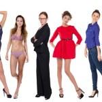 Full length of a beautiful young women — Stock Photo #61345461