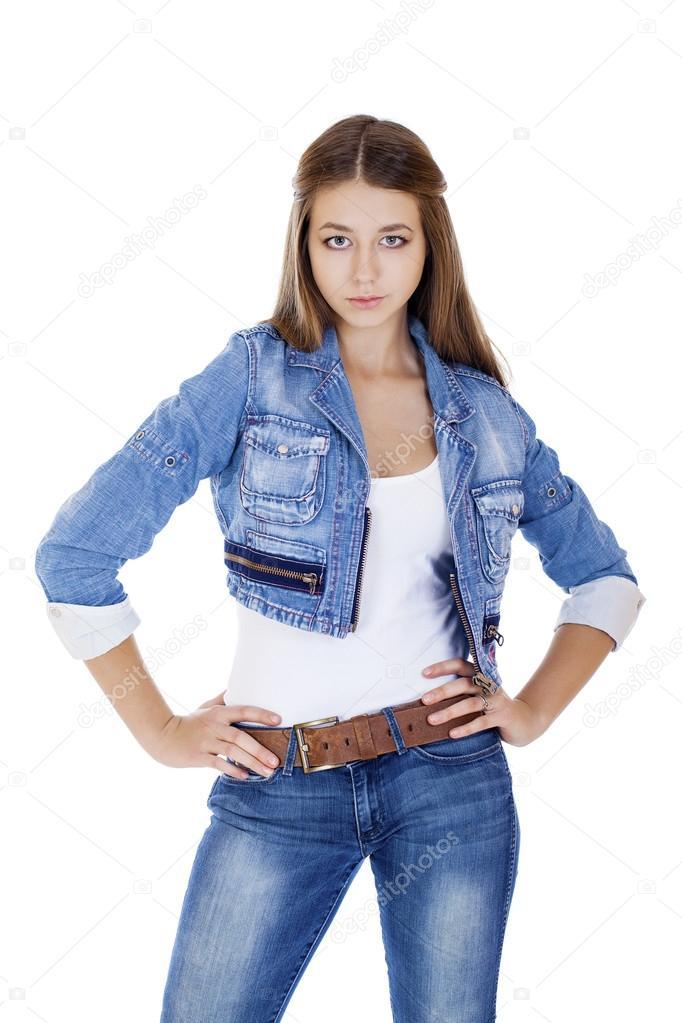 Скачать фото девушки в куртках