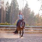 Horse riding — Stock Photo #70912423