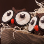 Owl muffins — Stock Photo #53510691