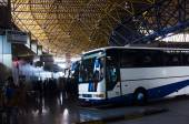 Macedonia Intercity Bus Station — Stock Photo