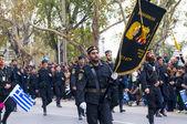 Ohi Day parade in Thessaloniki — Stock Photo