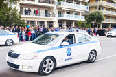 Ohi Day parade in Thessaloniki — Stock Photo