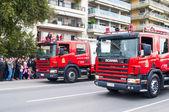 Ohi Day parade em Salónica — Fotografia Stock