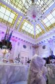 Gorgeous banquet hall — Foto Stock