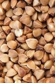 Buckwheat groats background — Stock Photo