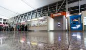 Hall of Tbilisi International Airport — Stock Photo