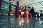 Duty Free shop in Tbilisi Airport — Stock Photo