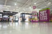 Duty Free shop in Larnaka Airport — Stock Photo