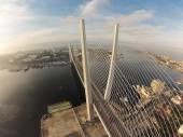 Bridge in Vladivostok — Foto Stock