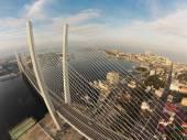 Bridge in Vladivostok — Stock Photo
