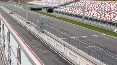 Free day on Moscow Raceway Ring. — Stock Video