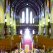 Wedding set up in Church. Ireland — Stock fotografie #52081103