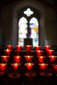 教会のキャンドル. — ストック写真