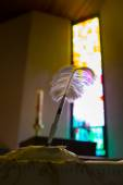 Tüy kalem kilisesi — Stok fotoğraf