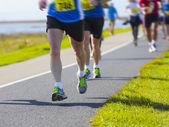 Marathon-läufer — Stockfoto