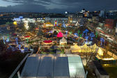 Galway Christmas Market at night — Stock Photo
