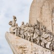 Portugal, age of discovery monument in Lisbon — Stock Photo #55124737