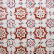 Traditional Portuguese azulejos, painted ceramic tilework — Stock Photo #56603601