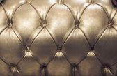 Sepia english genuine leather upholstery, background — Stock Photo