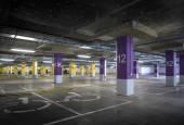 Parque de estacionamento vazio — Fotografia Stock