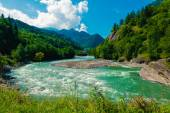 Caucasus landscape — Stock Photo