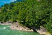 Caucasus landscape — Stock Photo