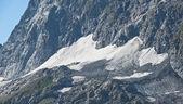 Glacier, Greater Caucasus — Stock Photo