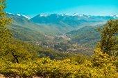 Krajobraz kaukazu — Zdjęcie stockowe