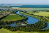 川のある風景します。 — ストック写真
