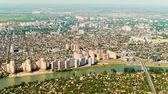 Pohled na město Krasnodar — Stock fotografie