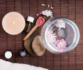 Spa still life up view — Stock Photo