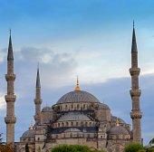 Turchia Moschea Blu, istanbul — Foto Stock