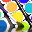 Paints of the artist — Stock Photo #53006027