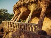 The park Guell — Stock Photo