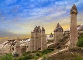Mountain landscape Goreme Cappadocia Turkey — Stock Photo