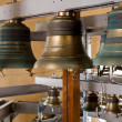 Gold Church bell — Stock Photo #56245357