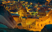 Landscape on GOREME Cappadocia Turkey. — Stock Photo