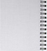 Open spiral note pad — Stock Photo