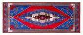 Ornament turkish pattern rug — Stock fotografie