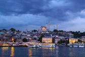 Ottoman mosque in Istanbul — Stock fotografie
