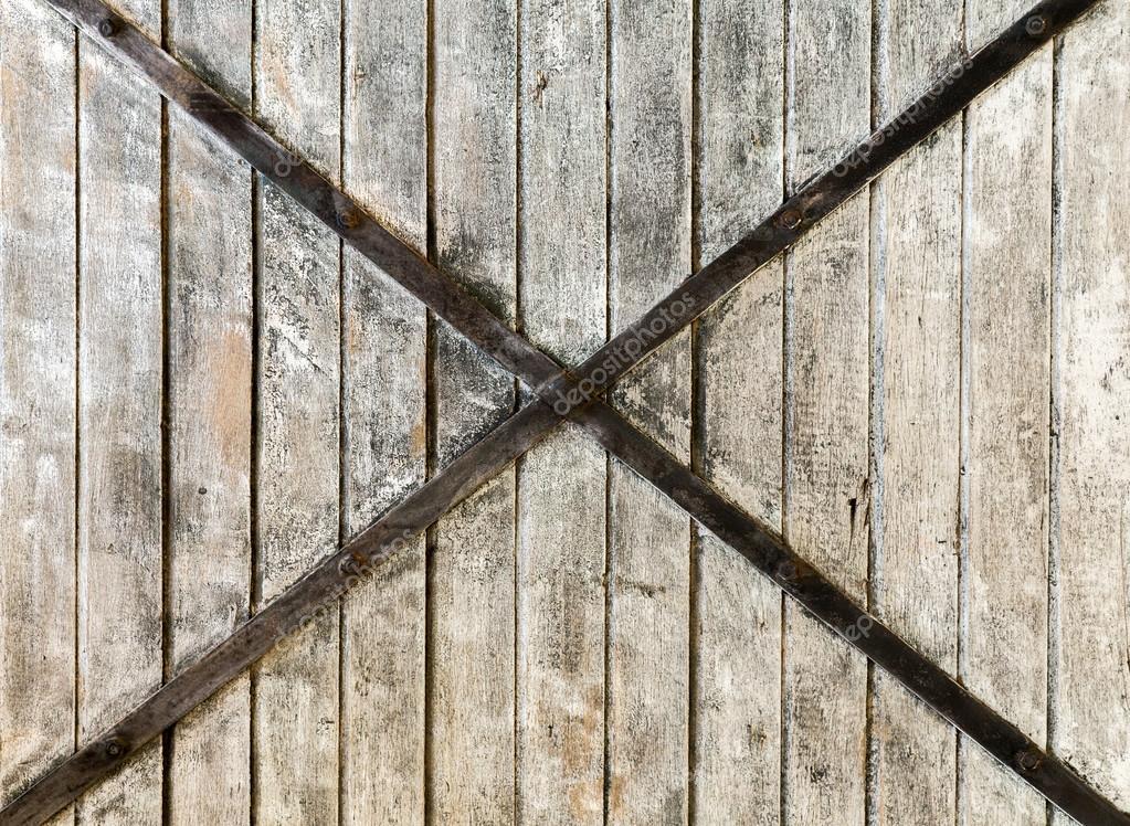 白漆木板木材纹理的背景墙上木质