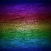 背景彩虹墙木 — 图库照片