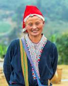 Red Dao Sapa District, Lao Cai, Vietnam — Stock Photo
