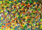 Mehrfarbigen bunte Wand Textur Hintergrund — Stockfoto