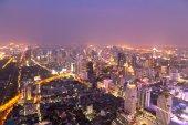 Bangkok city in night — Stock Photo