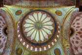 Interior of the Blue Mosque, — Stock Photo