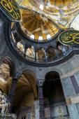 Interior Hagia Sophia, — Stock Photo