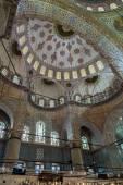 Wnętrze Błękitny Meczet, — Zdjęcie stockowe